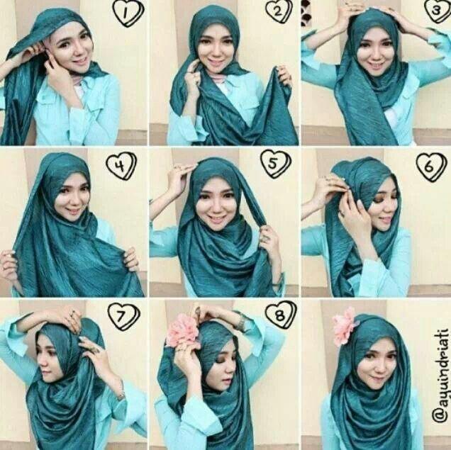 Comment mettre un hijab et lequel choisir   5696d165402