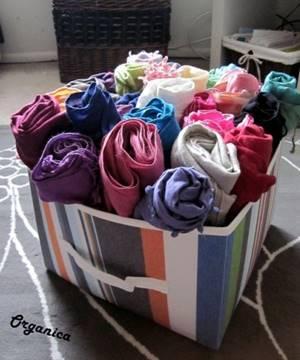 Boites qui accueillent des foulards